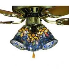 Glass Bathroom Light Shades Stained Glass Ceiling Fan Light Shades Foter