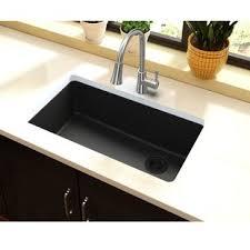 black undermount kitchen sink black undermount sink kitchen wayfair