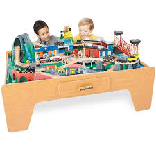 imaginarium metro line train table amazon mountain rock train table toys r us