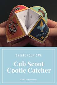 gathering activities for cub scouts cub scout ideas