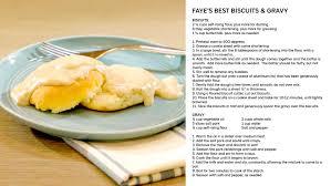 faye u0027s best biscuits u0026 gravy videos what u0027s cooking with julie