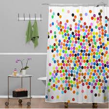 Multi Color Shower Curtains Curtain Astounding Polka Dot Shower Curtain Vinyl Polka Dot
