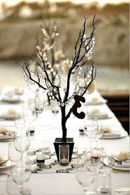 tree branch centerpiece cool wedding table decorations minimalist wedding