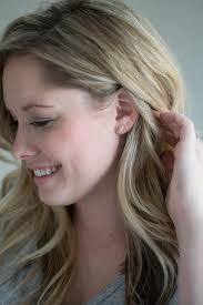 diamond earrings on guys herkimer diamond studs saressa designs