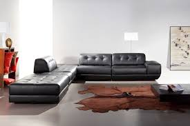 Leather Sectional Sofa With Chaise by Black Leather Sectional Sofa Design Ideas Eva Furniture