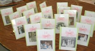 family and friends vintage wedding table number cards weddingbee