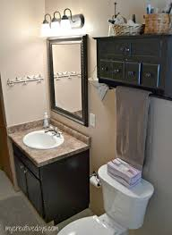big changes without big money small bathroom makeover