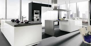 cuisine blanc mat cuisine design blanche captivant ilot mobile cuisine