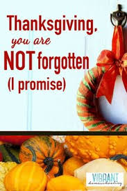thanksgiving a time to remember by barbara rainey my favorite