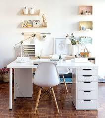 Natural Wood Computer Desk Desk White Desk With Natural Wood Top White Office Desk With