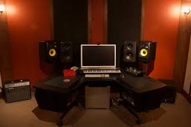 Studio Monitor Desk by Soul Haven Studios