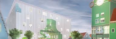 500 square meter mvrdv unveil plans for zaanstad cultural cluster in the