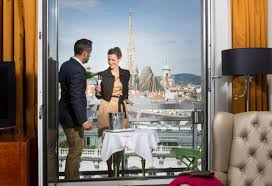 the 4 star boutique hotel with panoramic view over vienna