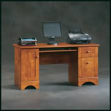 Sauder Harbor View Computer Desk With Hutch Salt Oak by Furniture Sauder Computer Desks Sauder L Shaped Desk Desk