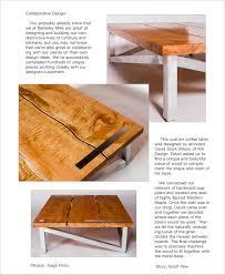 Colors Of Wood Furniture Collaboration Between Berkeley Mills And Wa Design Berkeley Mills