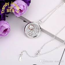 floating pendant necklace images 2018 4 style floating locket pendant necklace women magnetic jpg