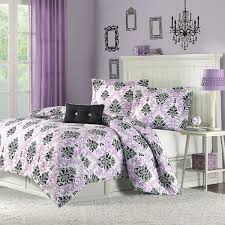 Cute Comforter Sets Queen Brilliant Bedding And Curtain Set Universalcouncil In Lavender