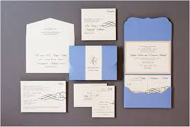 silver wedding invitations blue and silver wedding invitations gourmet invitations