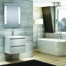 santarini illuminated bathroom mirror with shaver socket