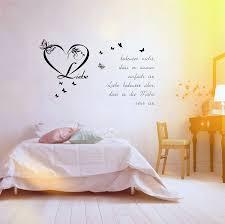 Bilder Schlafzimmer Amazon Wandworte Schlafzimmer Wandtattoo Wandaufkleber Günstig By Wall