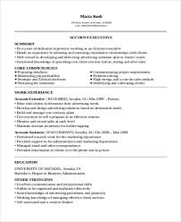 Advertising Account Executive Resume 51 Sales Resume Examples Free U0026 Premium Templates