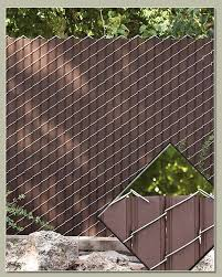 Decorate A Chain Link Fence Impressive Decoration Chain Link Privacy Fence Winning