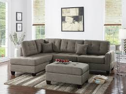 Overstuffed Sectional Sofa Fabric Sectionals Microfiber Sectional Sofas Microsuede