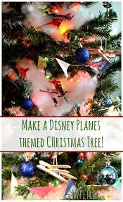 disney planes themed christmas tree planestotherescue ad