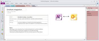 outlook 2010 and onenote 2010 integration part 2 u2014meetings and