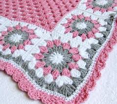 Crochet Designs Flowers Crochet Flower Baby Blankets Are Cute Adorable And Easy To Make