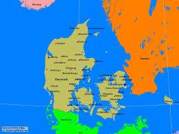denmark political map a learning family