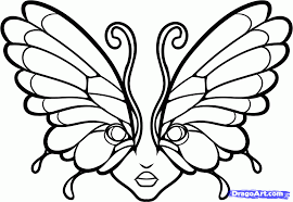 6 how to draw butterfly