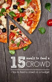 best 25 meals for large groups ideas on large crowd