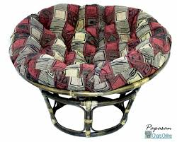 Papasan Chair Cushion Outdoor Furniture Single Papasan Chair With Tapestry Cushion Ideas
