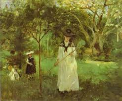 Berthe Morisot French Impressionist Painter Biography - Berthe morisot in the dining room