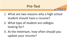 Grade Your Resume Update Resume 11 Th Grade Postsecondary Visits And Admissions 2
