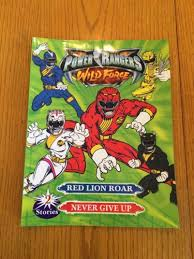 power rangers wild force 2 stories red lion roar give