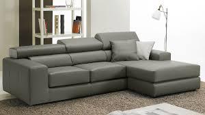 canapé d angle en cuir gris canape d angle solde maison design wiblia com