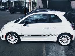 Fiat 500 Abarth White 500 Finest Hour Motoring