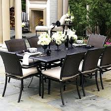 Wicker Patio Dining Table New Resin Wicker Patio Dining Set Or Image Of Outdoor Wicker