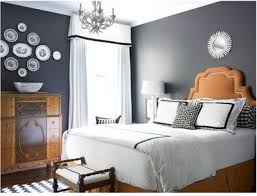 Gray And Orange Bedroom Decorating With Gray Campbell Designs Llc