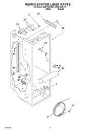 parts for whirlpool ed5ftgxkq01 refrigerator appliancepartspros com