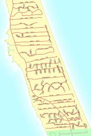 Map Of Outer Banks Nc Street Maps Town Of Duck North Carolina
