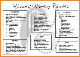 9 3 month wedding checklist nurse resumed