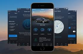 mbrace in vehicle technology apps mercedes