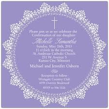confirmation invitation lace confirmation invitations paperstyle