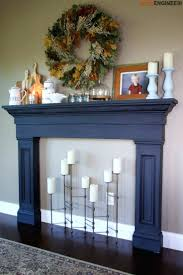 wood fireplace mantel surround plans ideas diy mantels free