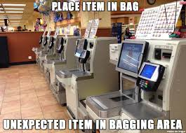 Self Checkout Meme - the hell which is self checkout adviceanimals