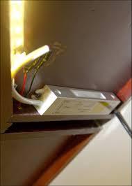 kitchen room white led under cabinet lighting led lights for