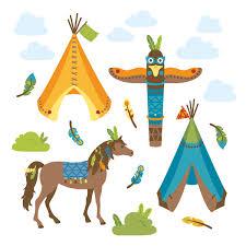 kinderzimmer wandsticker dinki balloon kinderzimmer wandsticker indianer grün braun orange